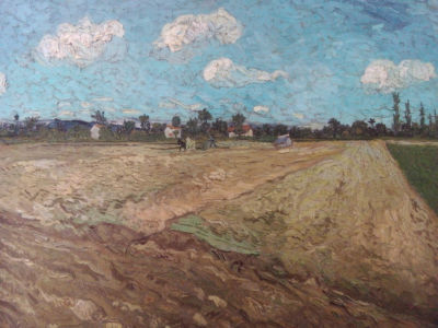 Vincent Van Gogh, Ploughed Field (The Furrows)